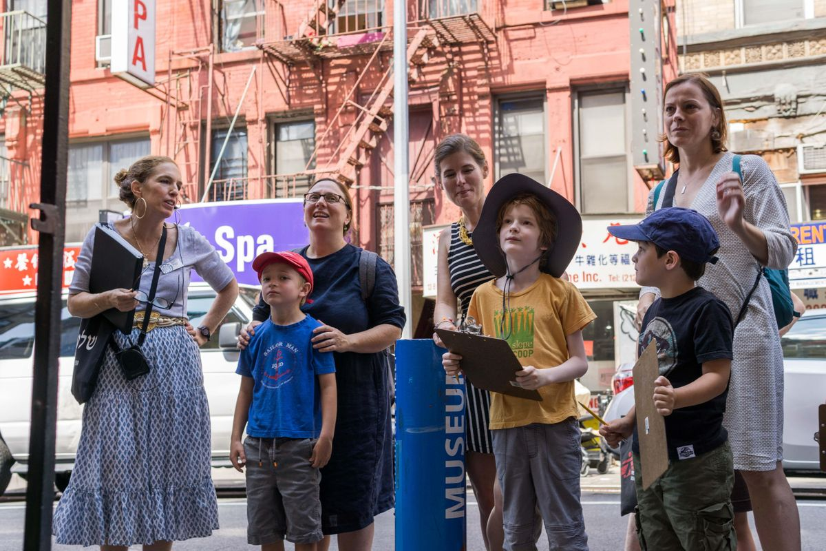A Kid's Life on the Jewish Lower East Side: A Walking Tour