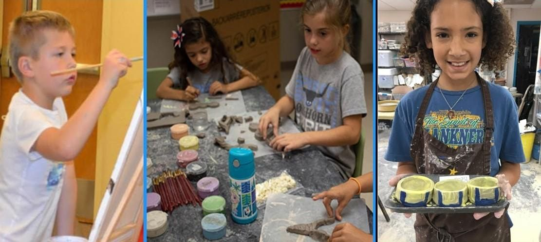 Super Awesome Cool Pottery Camp