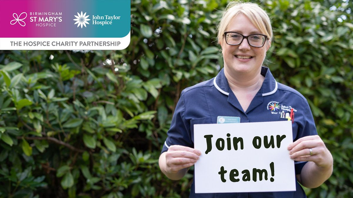 The Hospice Charity Partnership recruitment session