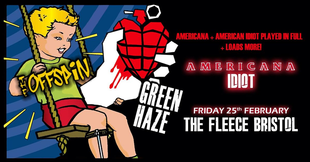 Green Haze - A Tribute To Green Day + The Offspin