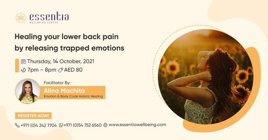 Meditation: Healing your lower back pain by releasing trapped emotions
