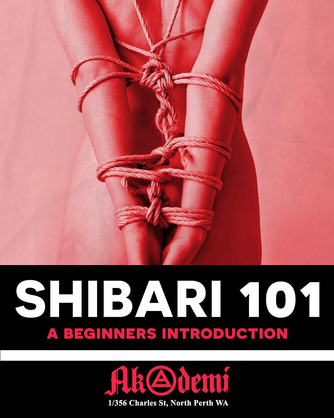 Shibari 101 - Rope, a beginners introduction + Rope Jam