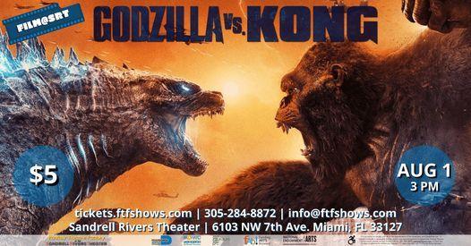FILM @ SRT: Godzilla VS Kong