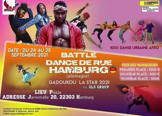 BATTLE DANCE DE RUE HAMBURG GADOUKOU LA STAR 2021 BY GLS GROUP