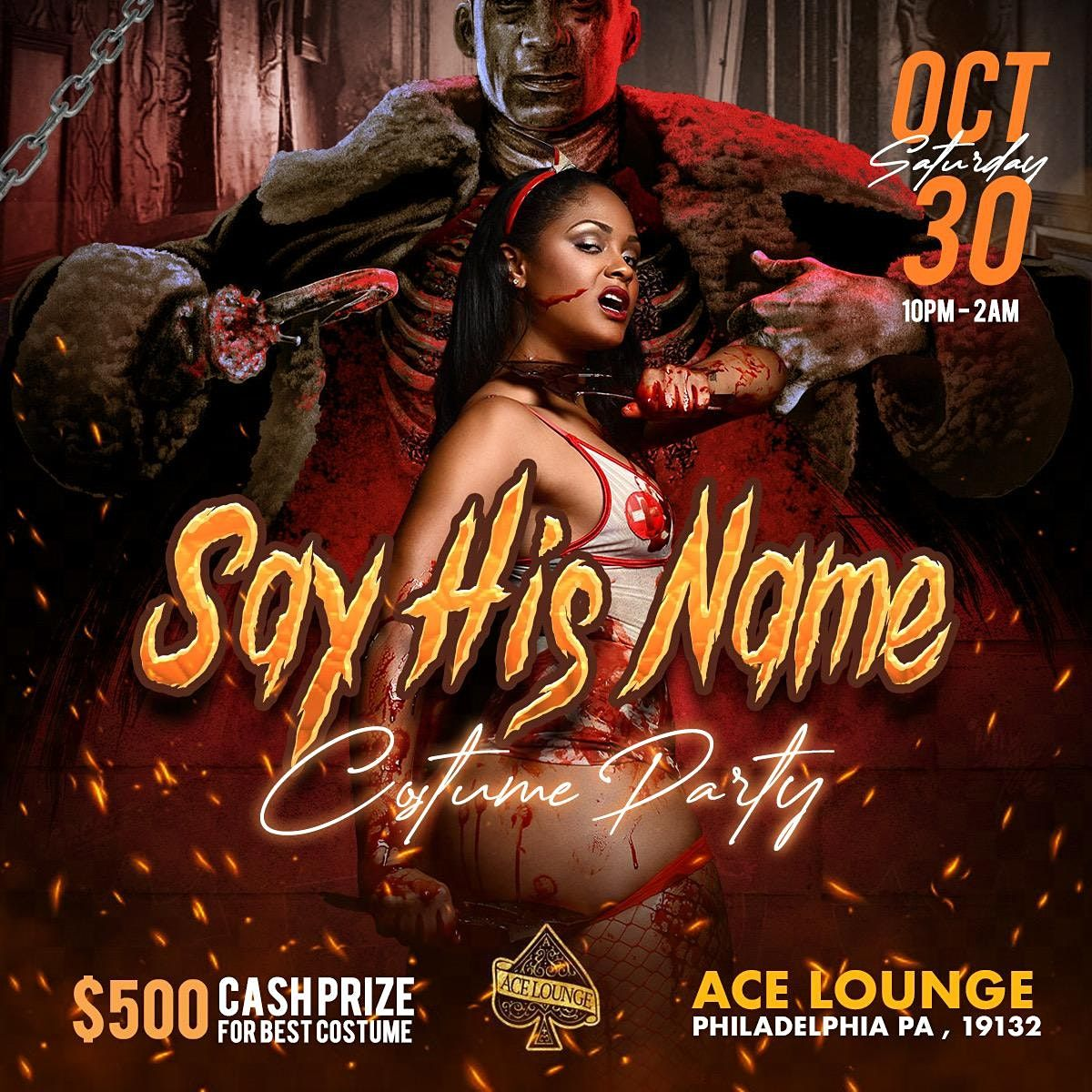 Say His Name : Halloween Costume Party