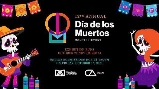 12th Annual D\u00eda de los Muertos & Monster Event