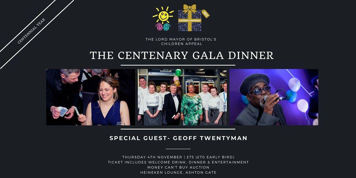 Lord Mayor of Bristol's Children Appeal Centennial Gala Dinner 2021