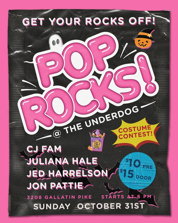 #PopRocksShowcase - Halloween Edition