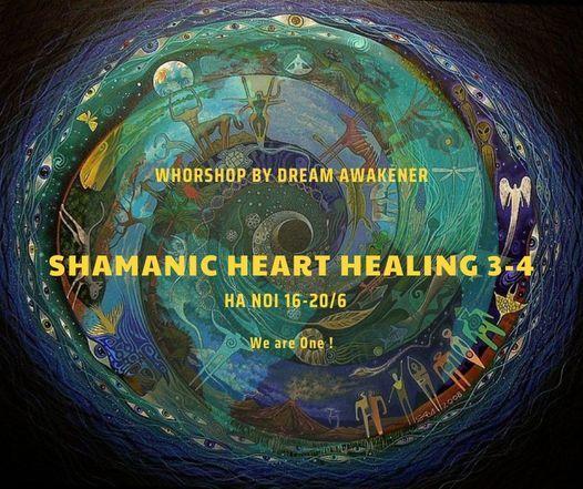 Workshop Ch\u1eefa l\u00e0nh theo Truy\u1ec1n th\u1ed1ng Shaman Level 3-4 | Hanoi