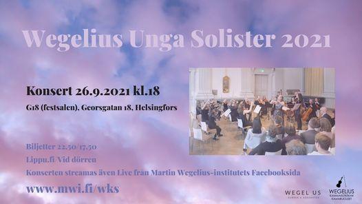 Wegelius Unga Solister 2021