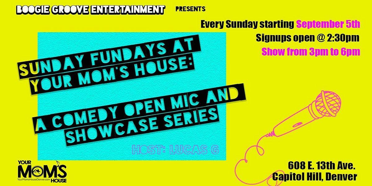 Sunday Funday: Comedy Open Mic