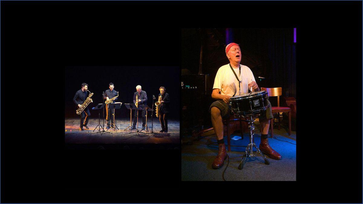 The Amsterdam Saxophone Quartet & Han Bennink play Duke Ellington