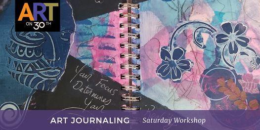Art Journaling - July Workshop