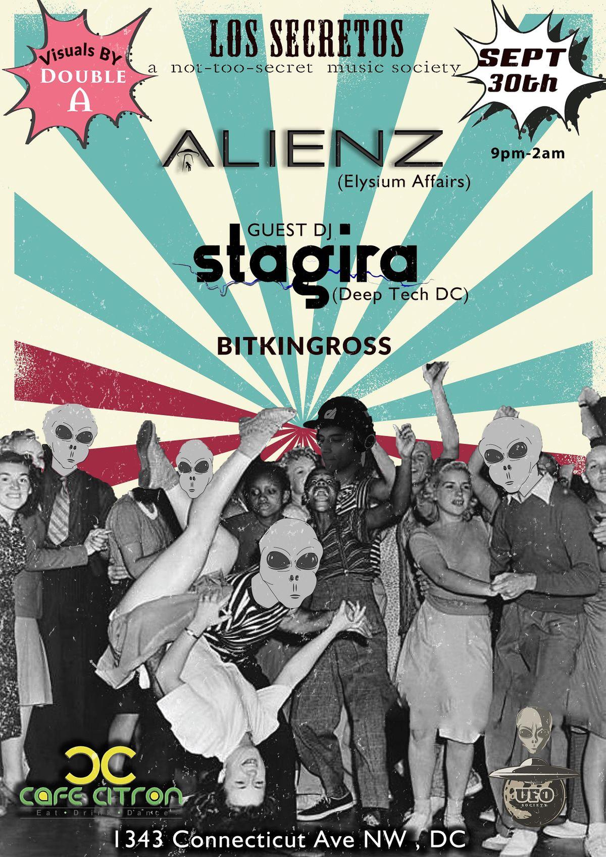 Los Secretos : Alienz - Stagira Bitkingross - DoubleA