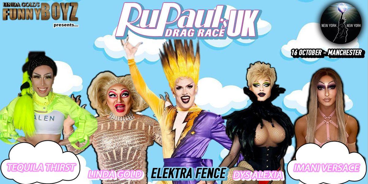 Elektra Fence from RuPaul's Drag Race UK