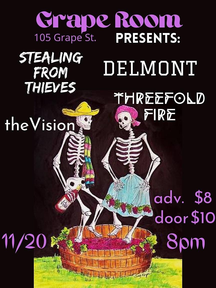 Stealing From Thieves\/ Delmont\/ Threefold Fire\/ theVision