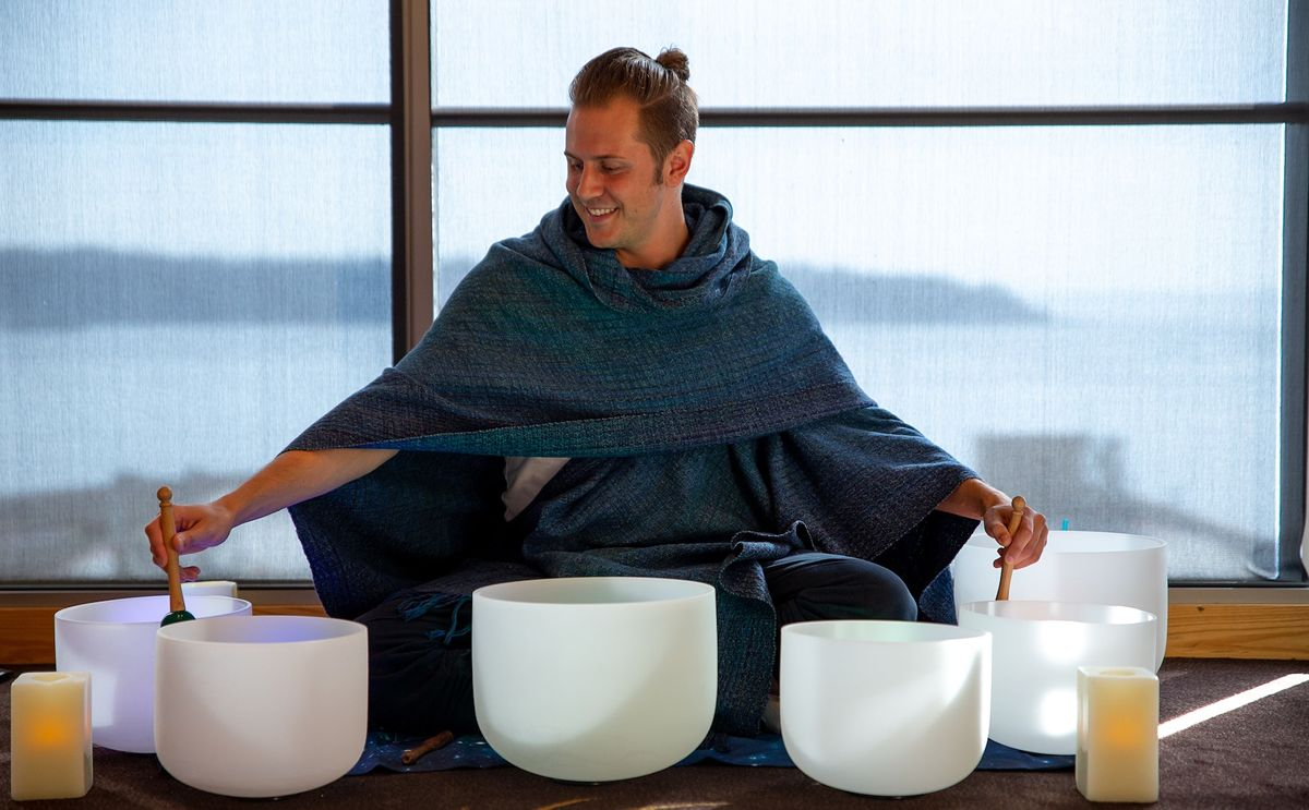 October Sound Bath Class: Healing Vibrations at Four Seasons Hotel Seattle