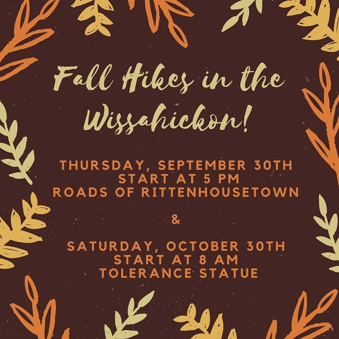 Guided Hike in the Wissahickon: Roads of Rittenhousetown