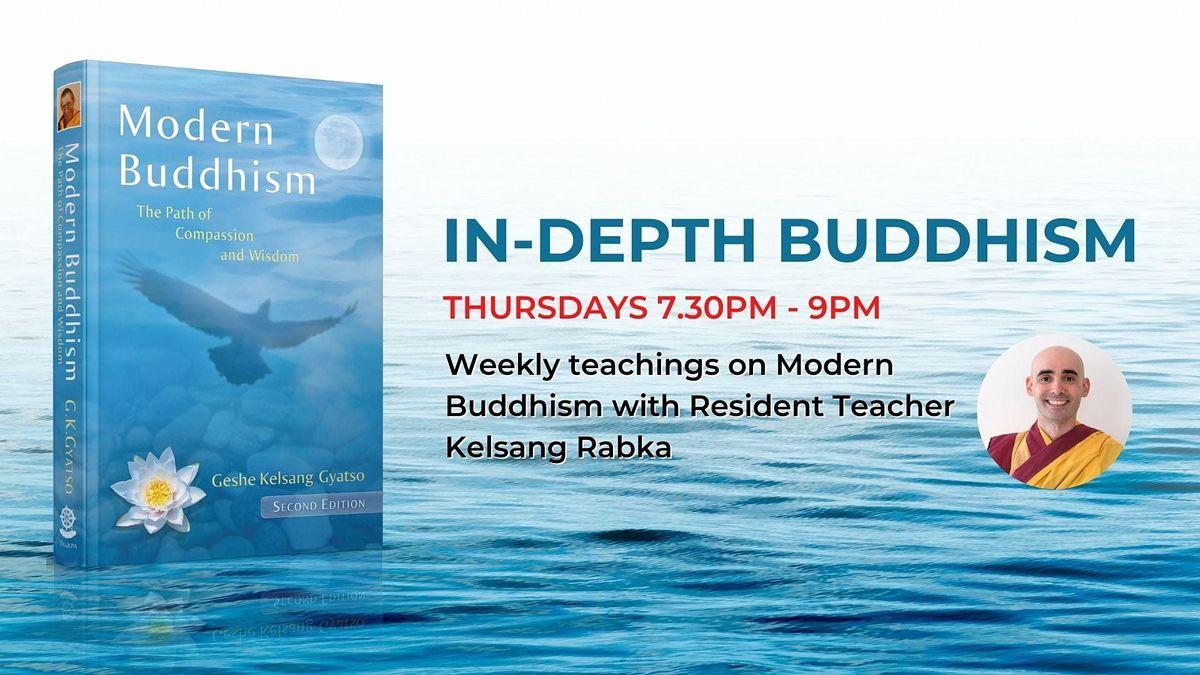 In-Depth Buddhism (October)