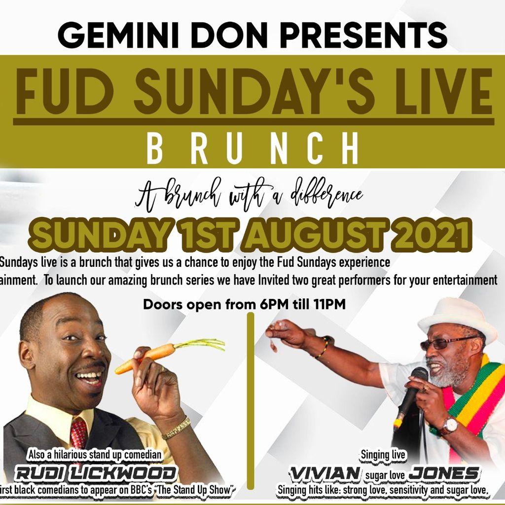 Fud Sundays Live Brunch