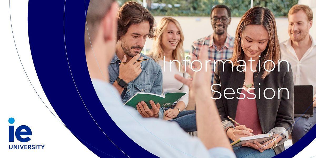 Information Session: Master & MBA Programs