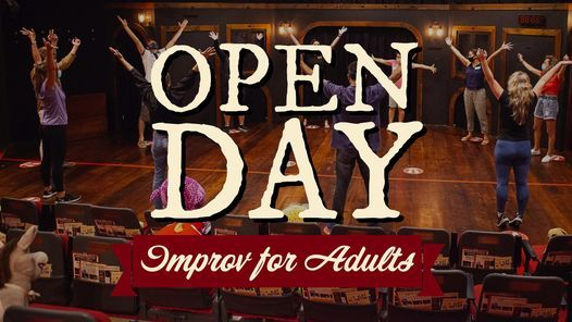 Open Day For Adults Winter 2021