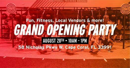 Crunch Cape Coral Grand Opening Celebration 58 Nicholas Pkwy W Cape Coral Fl 33991 2845 United States 28 August 2021