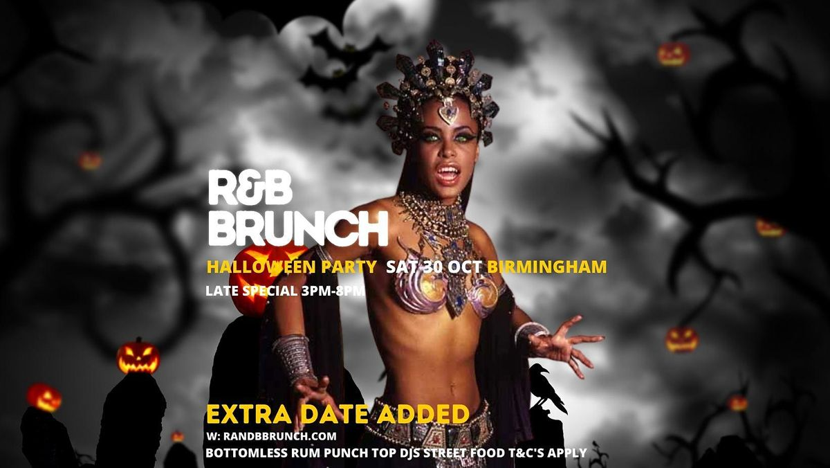 RNB Brunch - HALLOWEEN - LATE SESSION