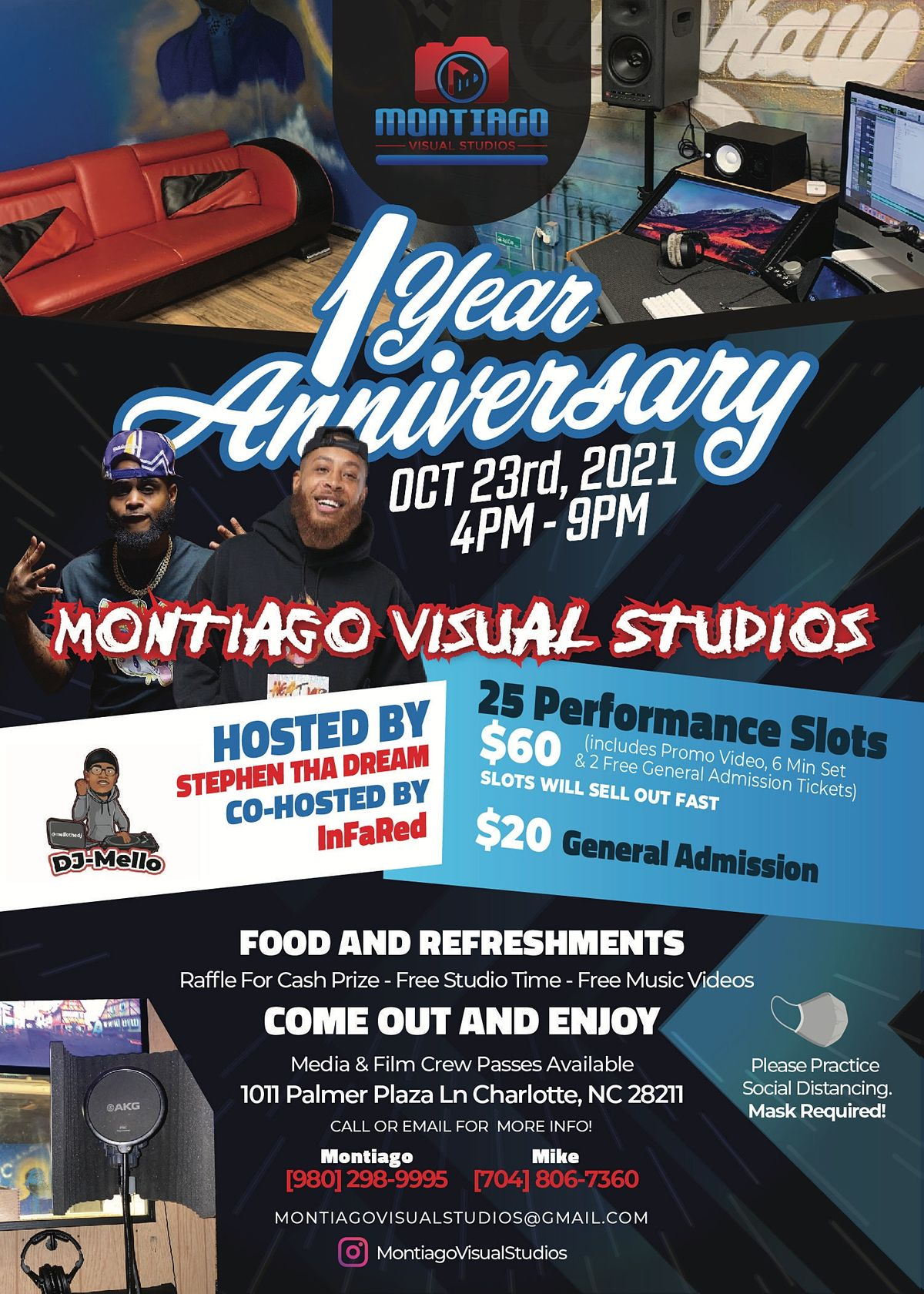 Montiago Visual Studios 1 Year Anniversary