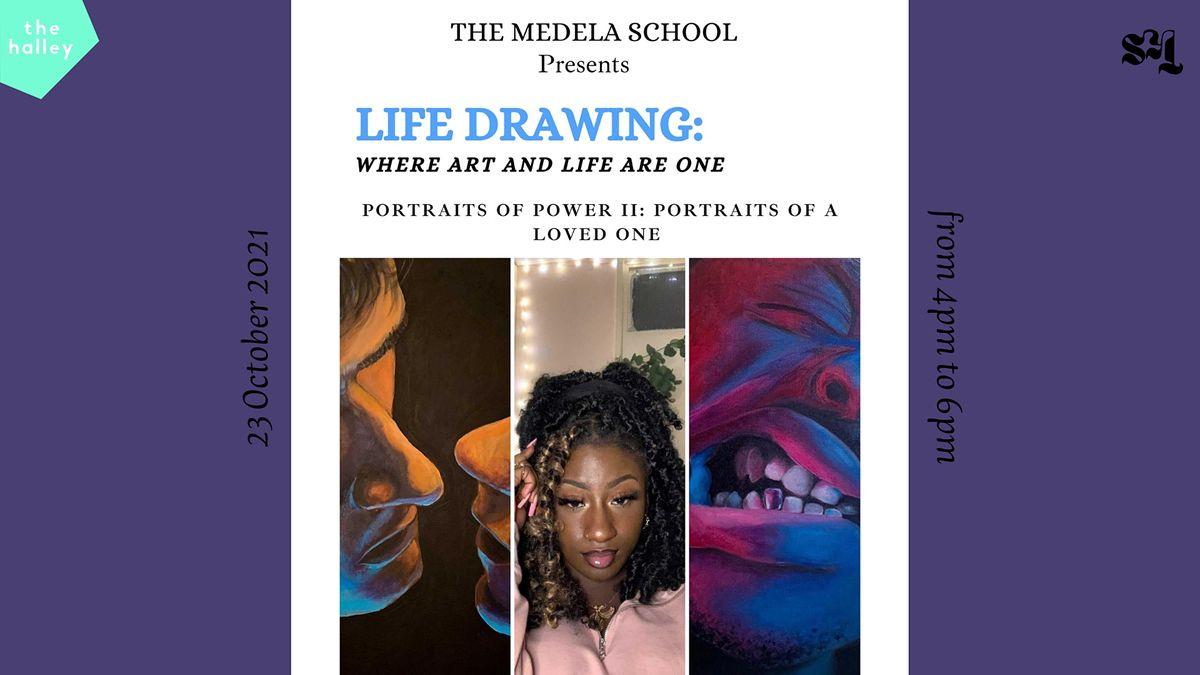 Medela School x SKT presents: Life Drawing workshop at the halley