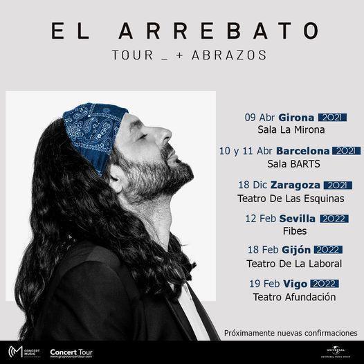 Concierto El Arrebato en Barcelona
