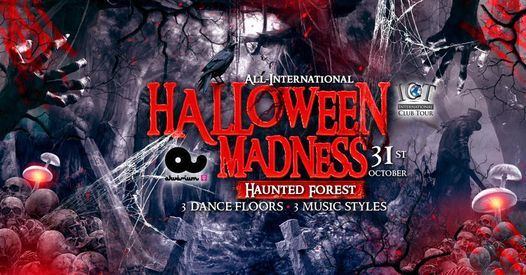 14th Annual Halloween Madness @ Akv\u00e1rium