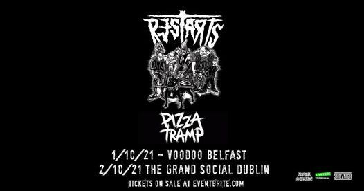 The Restarts & Pizzatramp live at The Grand Social Dublin 2\/10\/21