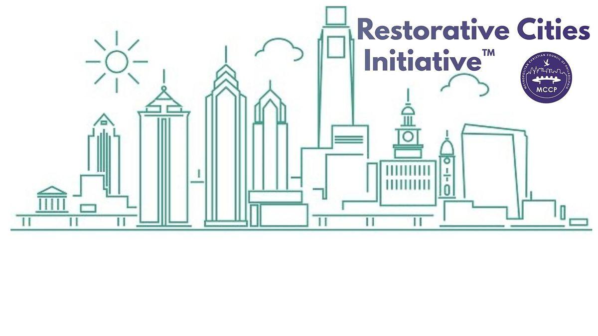 2-day Restorative Cities Initiative\u2122 Train the Trainer
