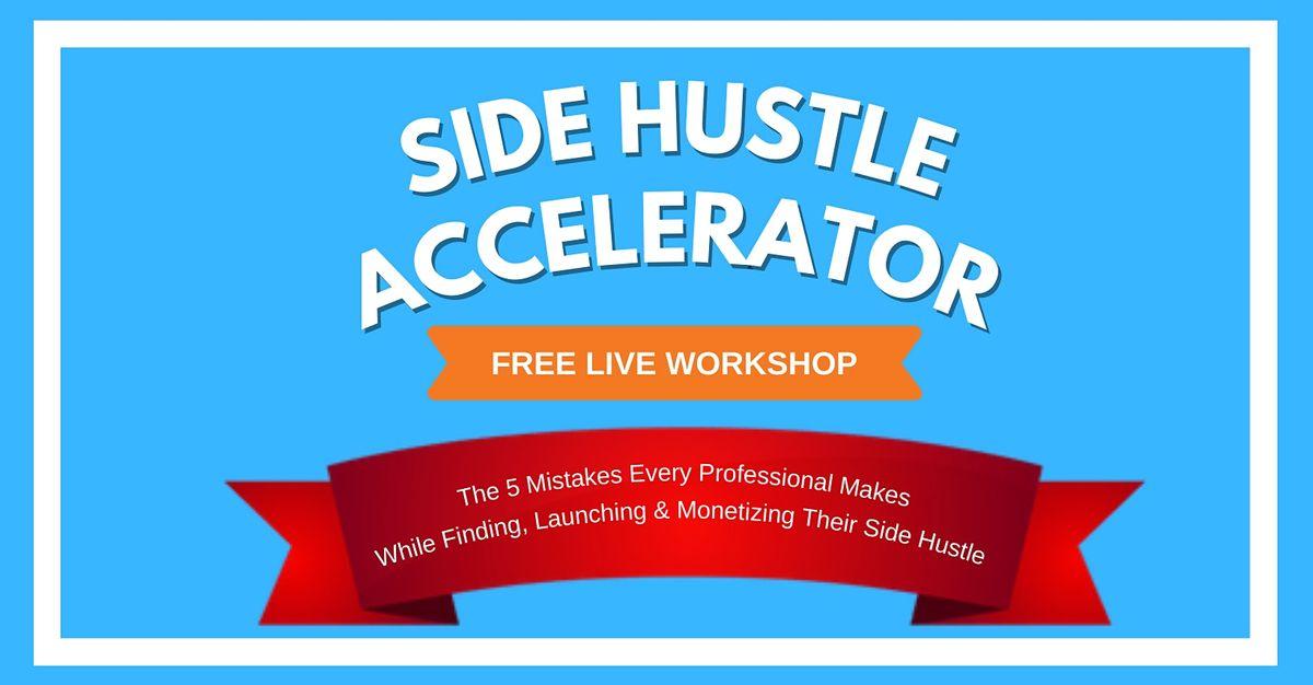 Side Hustle Accelerator Masterclass \u2014 Singapore
