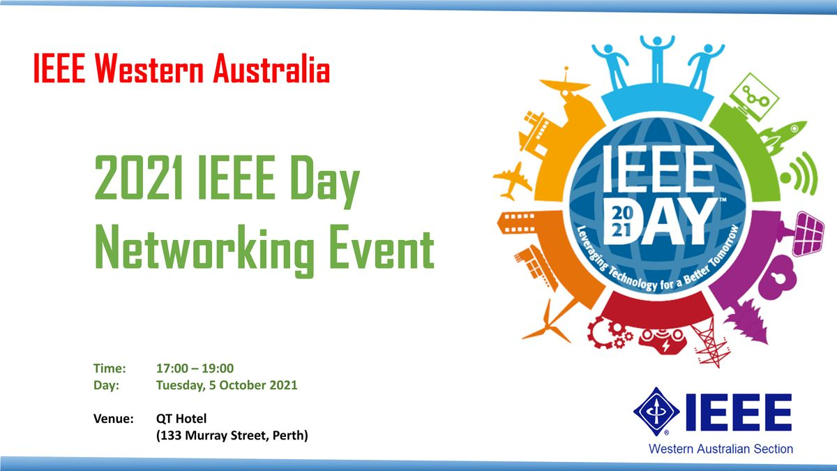 2021 IEEE Day Networking Event