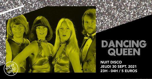 Dancing Queen \/ Nuit Disco Paillette du Supersonic