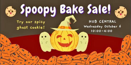 Spoopy Bake Sale