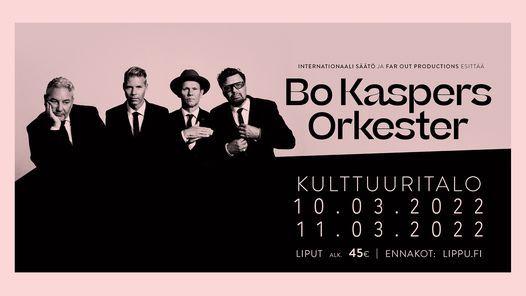 Bo Kaspers Orkester \/ Kulttuuritalo, Helsinki 13.10.2021