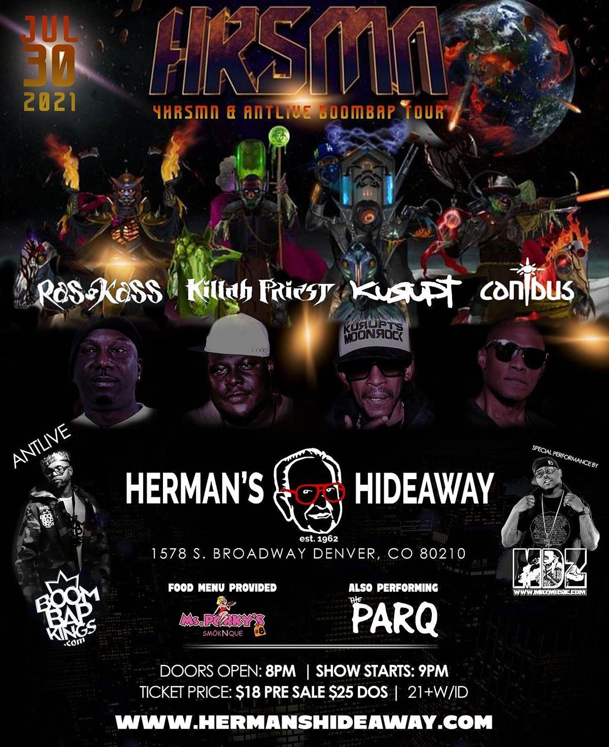 4HRSMN & ANTLIVE BOOMBAP TOUR
