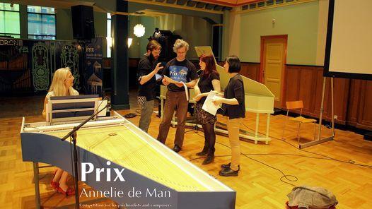 Evening Concert: Composers Competition   Prix Annelie de Man 2021