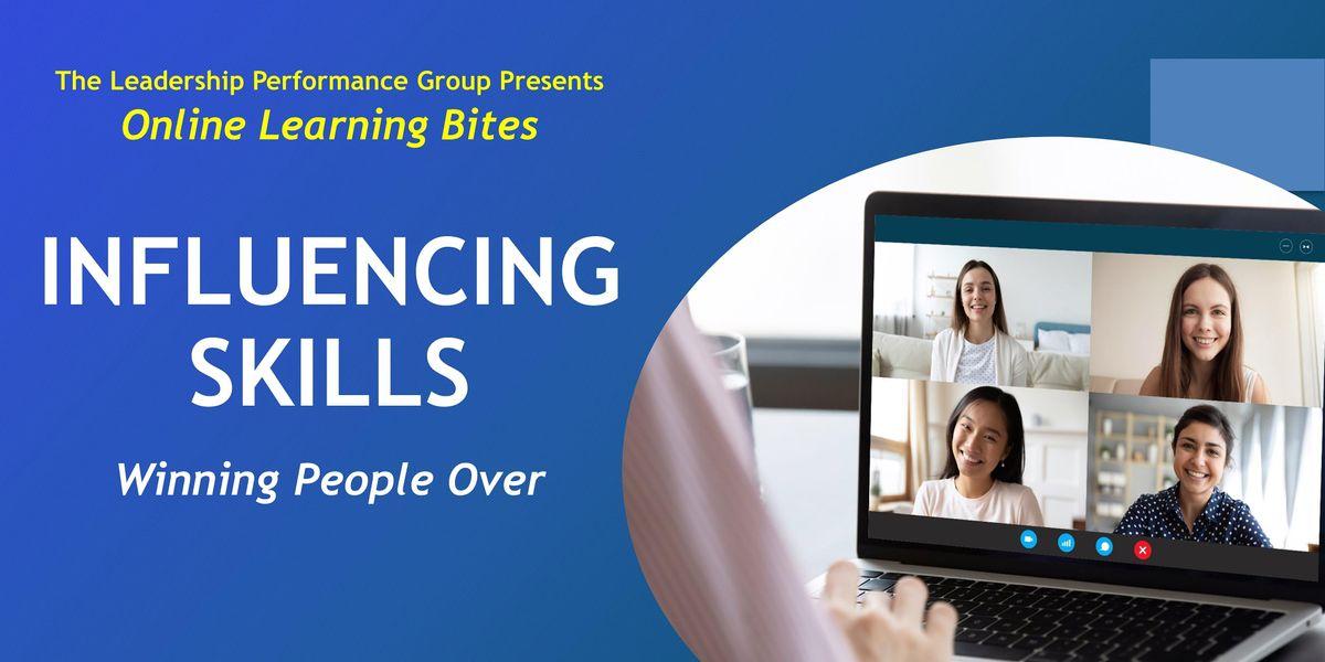 Winning People Over: Influencing Skills (Online - Run 23)