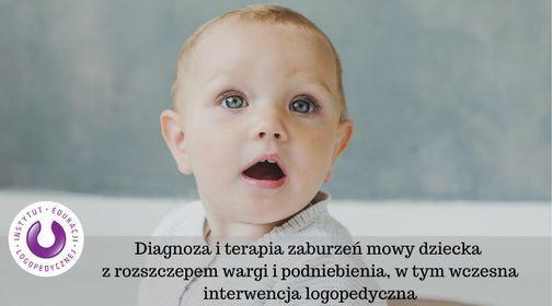 Warszawa: Diagnoza i terapia zaburze\u0144 mowy dziecka z rozszczepem
