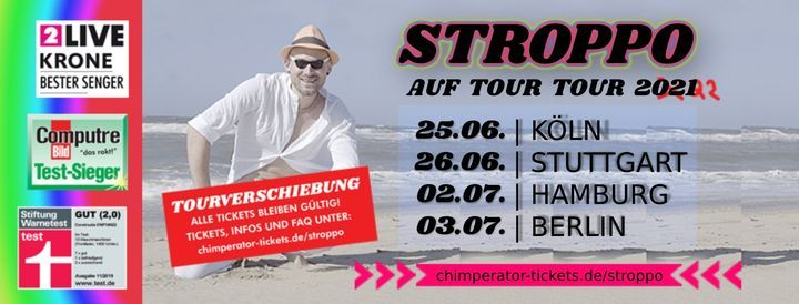 Stroppo \u2219 Auf Tour Tour 2021 \u2219 Hamburg
