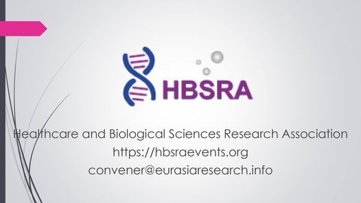 2021 \u2013 19th International Conference on Research in Life-Sciences & Healthcare (ICRLSH), 26-27 October, Dubai