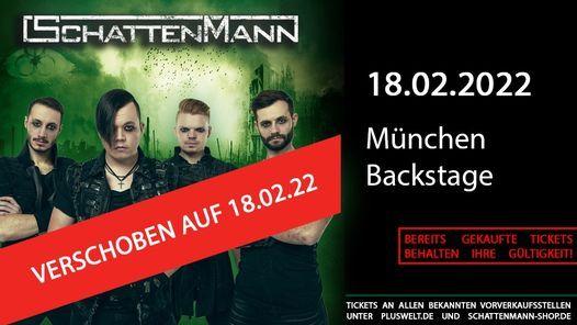 Schattenmann \/\/ 18.02.2022 \/\/ M\u00fcnchen, Backstage