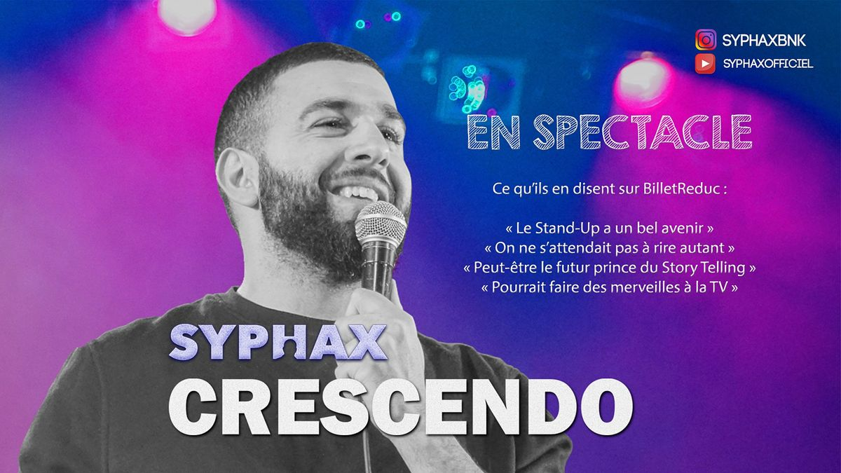 "SYPHAX dans "" Crescendo """
