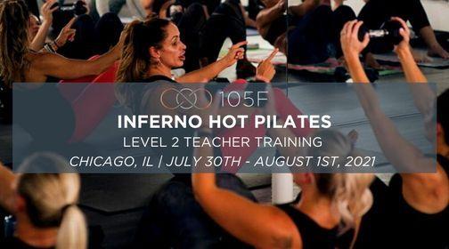 Inferno Hot Pilates - Level 2 Teacher Training