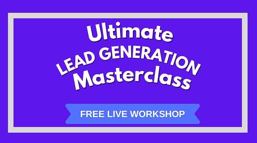 Lead Generation Masterclass \u2014 Hamburg