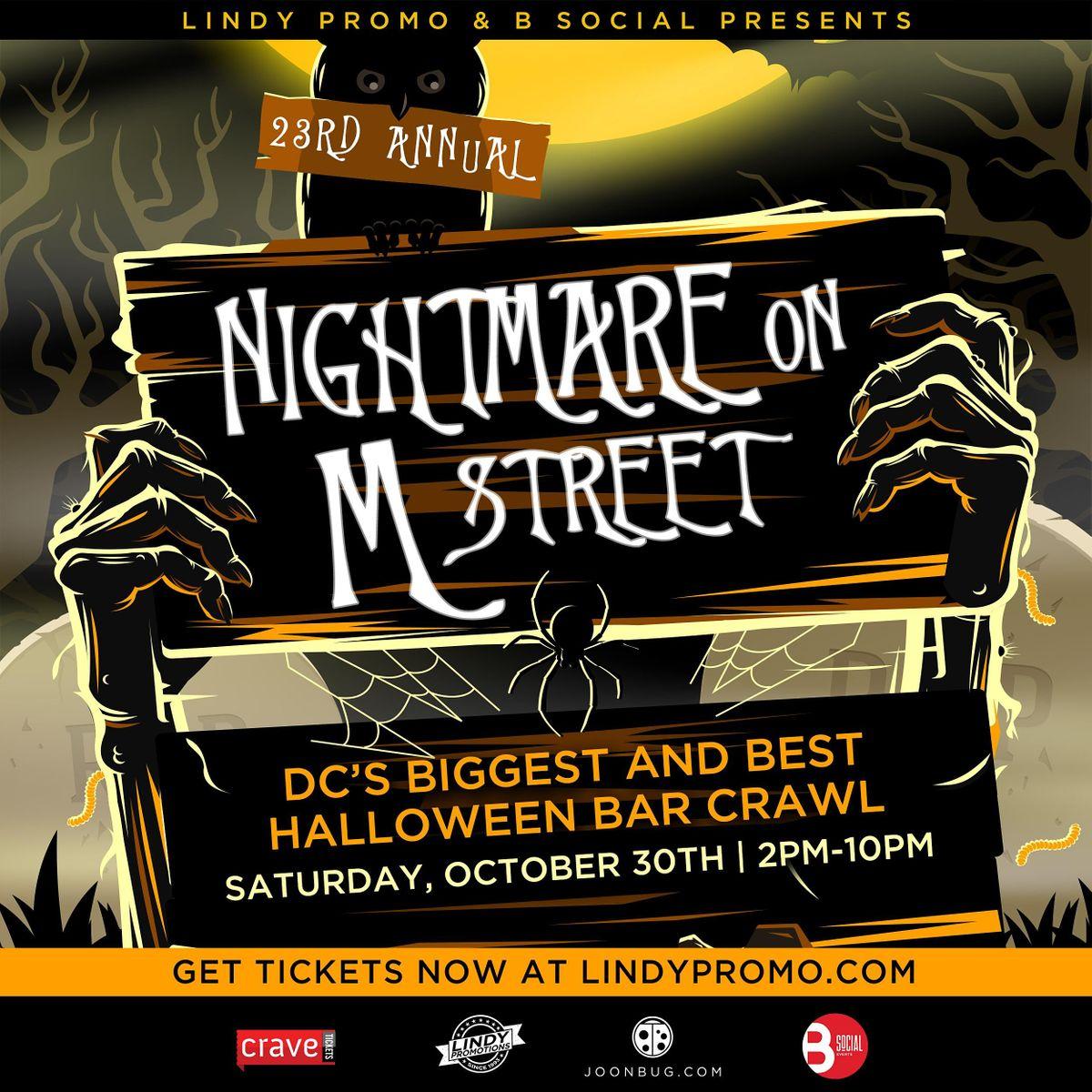 23rd Annual Nightmare On M Street Bar Crawl